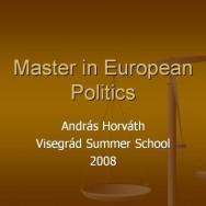 Master in European Politics